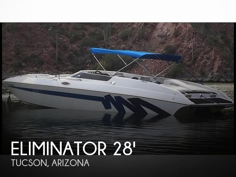 Used Boats For Sale in Tucson, Arizona by owner | 1996 Eliminator Eagle 280 Xp