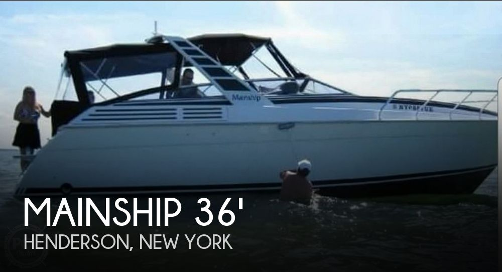 Used Boats For Sale in Utica, New York by owner | 1994 Mainship 36' Express Yacht