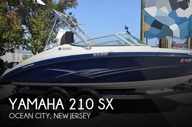 2012 Yamaha boat for sale, model of the boat is 210 SX & Image # 1 of 8