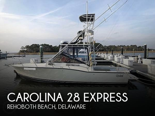 Used Boats For Sale in Delaware by owner | 1998 Carolina Classic 28 Express