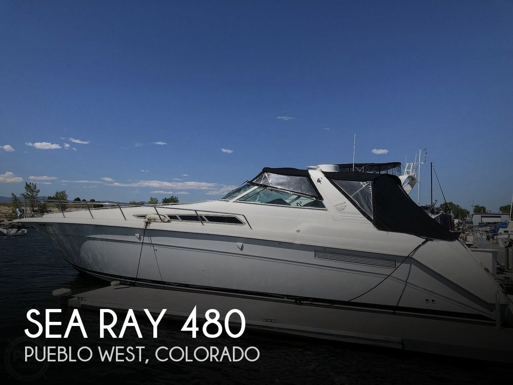 1991 Sea Ray boat for sale, model of the boat is 480 /500 Sundancer & Image # 1 of 40