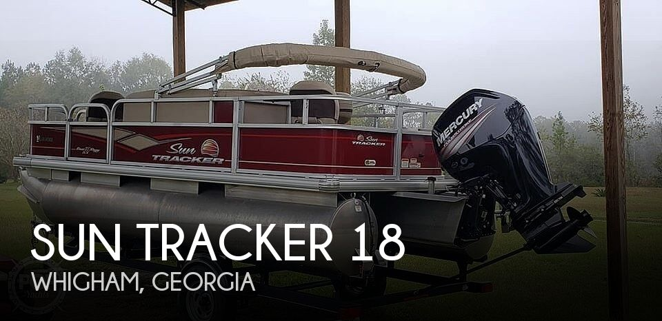 Used Sun Tracker Pontoon Boats For Sale in Georgia by owner | 2018 Sun Tracker 18