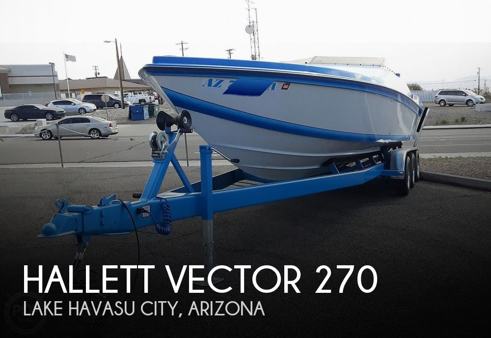 Used Hallett Boats For Sale by owner | 1986 Hallett Vector 270