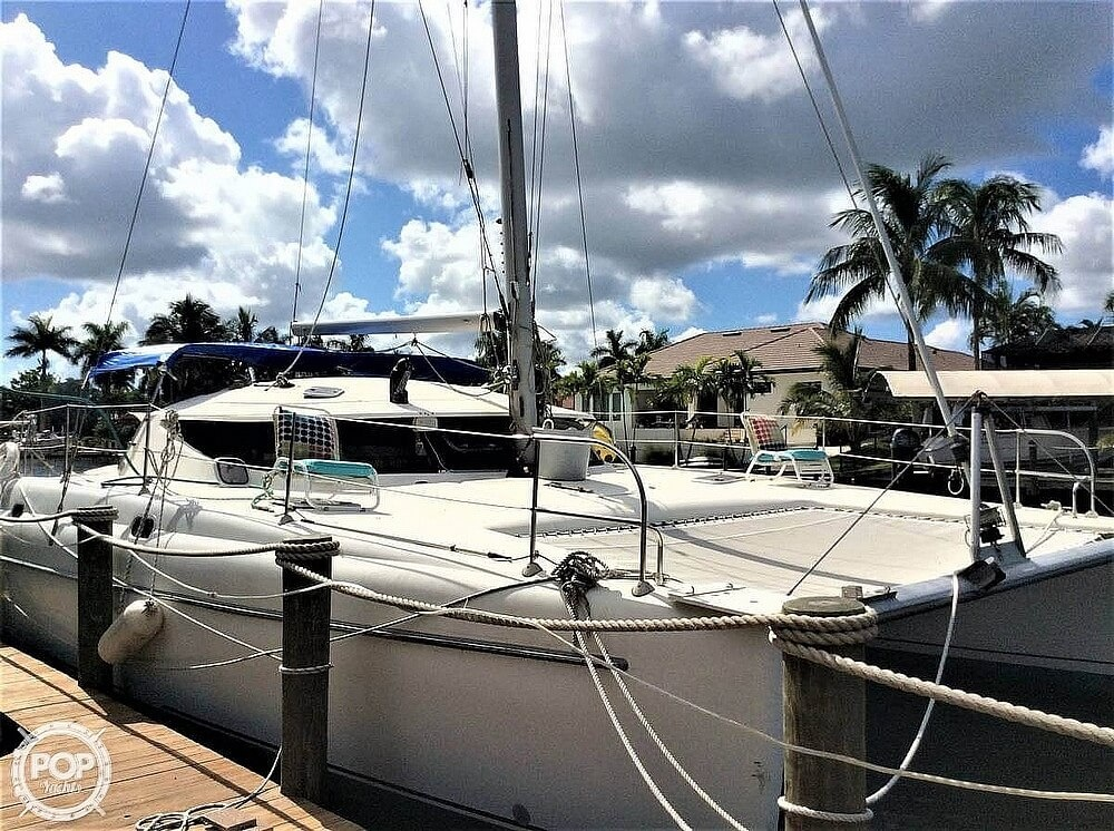 1994 Fountaine Pajot boat for sale, model of the boat is Athena 38 & Image # 2 of 40