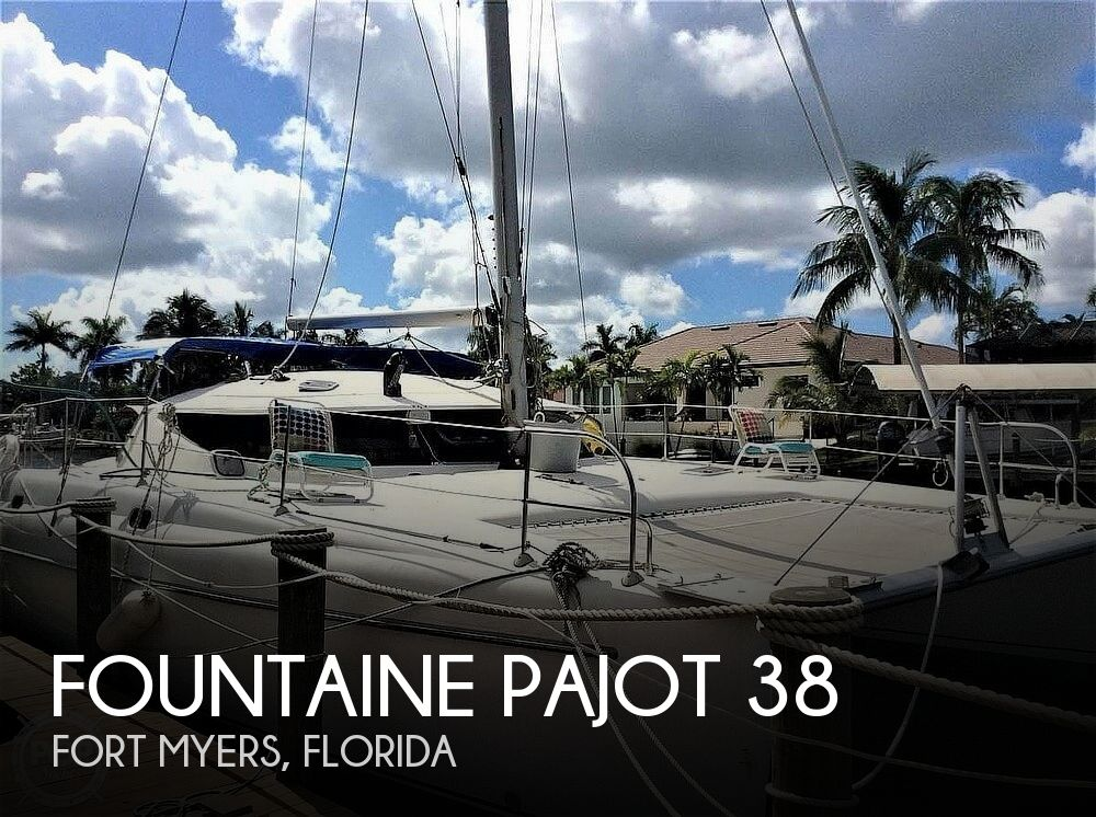 1994 Fountaine Pajot boat for sale, model of the boat is Athena 38 & Image # 1 of 40