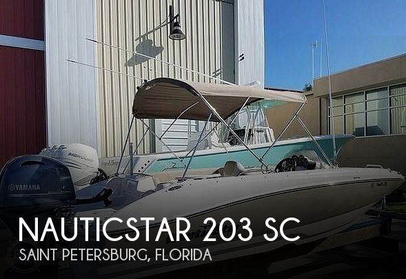 Used NauticStar Deck Boats For Sale in Florida by owner | 2017 NauticStar 203 SC