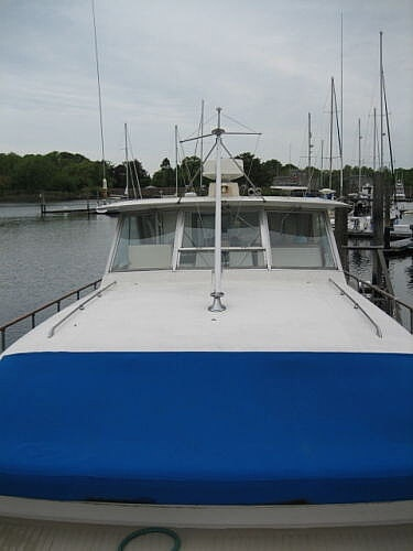 1966 Chris Craft boat for sale, model of the boat is 47 Commander & Image # 25 of 40
