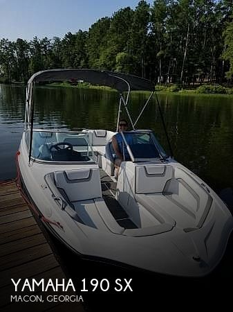 Used Yamaha Ski Boats For Sale in Georgia by owner | 2018 Yamaha Sx190