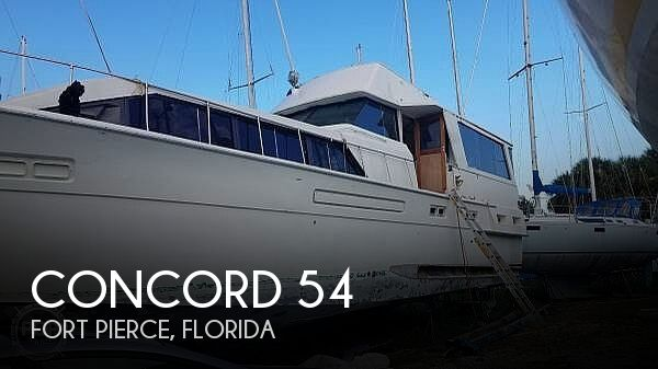 1974 Concord boat for sale, model of the boat is 54 Pilot House & Image # 1 of 40