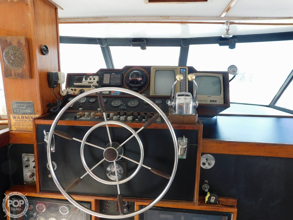 1974 Concord boat for sale, model of the boat is 54 Pilot House & Image # 28 of 40