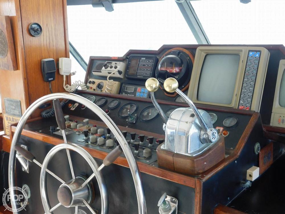 1974 Concord boat for sale, model of the boat is 54 Pilot House & Image # 39 of 40
