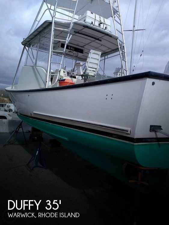 Used DUFFY Boats For Sale by owner | 1988 Duffy 35 Express Fisherman