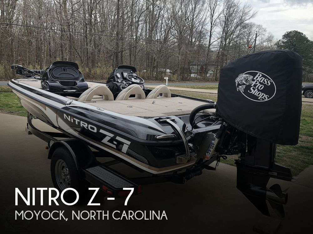 2014 Nitro boat for sale, model of the boat is Z - 7 & Image # 1 of 40