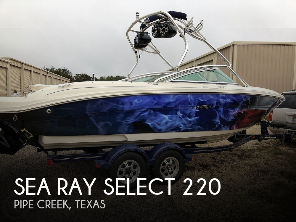 Used Sea Ray Select 220 Boats For Sale by owner | 2005 Sea Ray Select 220