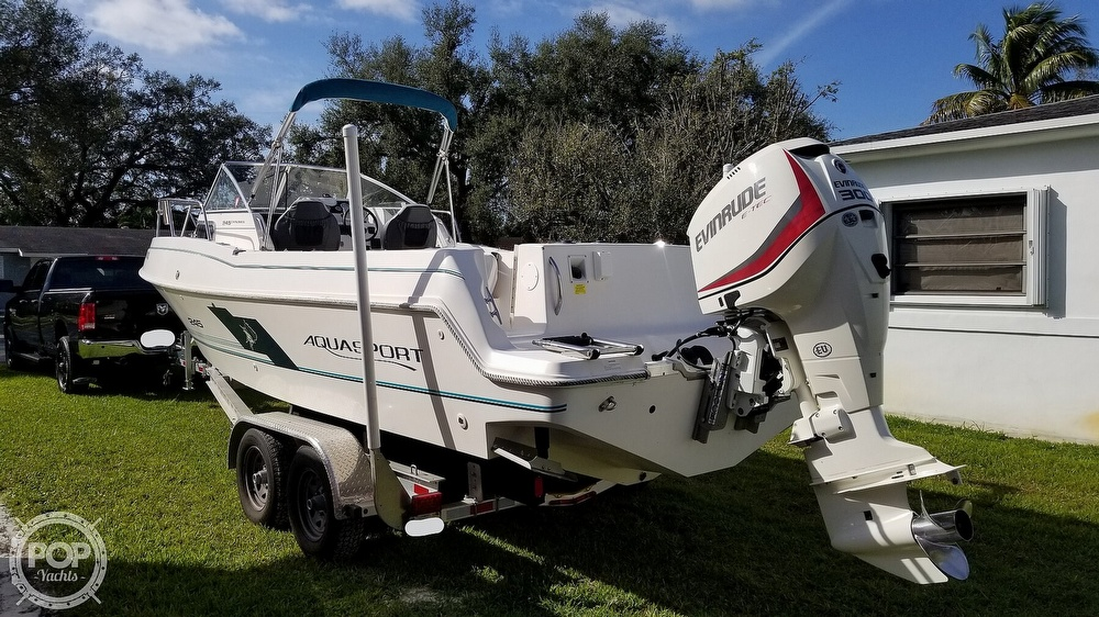 1997 Aquasport boat for sale, model of the boat is 245 EXPLORER & Image # 5 of 40