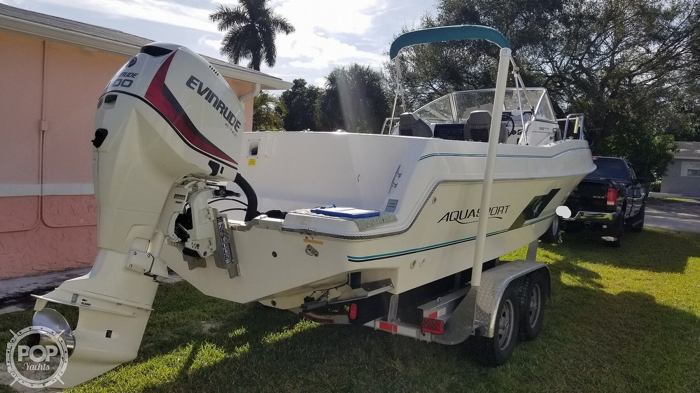 1997 Aquasport boat for sale, model of the boat is 245 EXPLORER & Image # 4 of 40