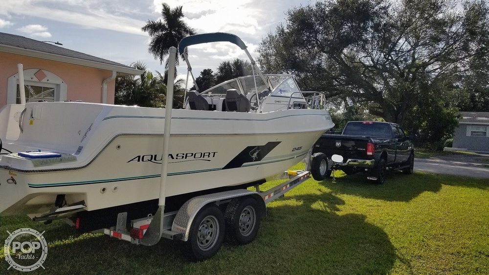 1997 Aquasport boat for sale, model of the boat is 245 EXPLORER & Image # 8 of 40