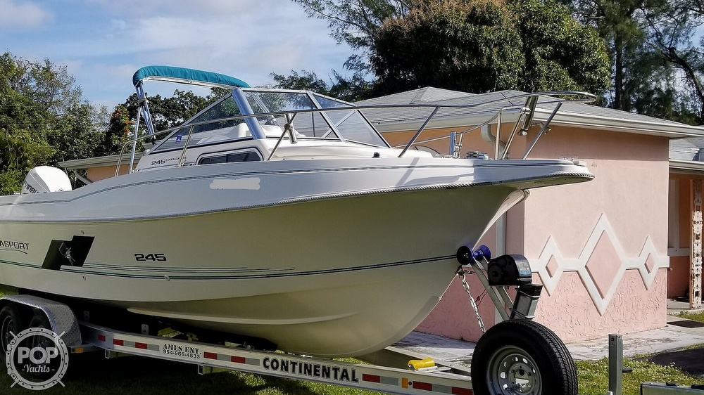 1997 Aquasport boat for sale, model of the boat is 245 EXPLORER & Image # 2 of 40