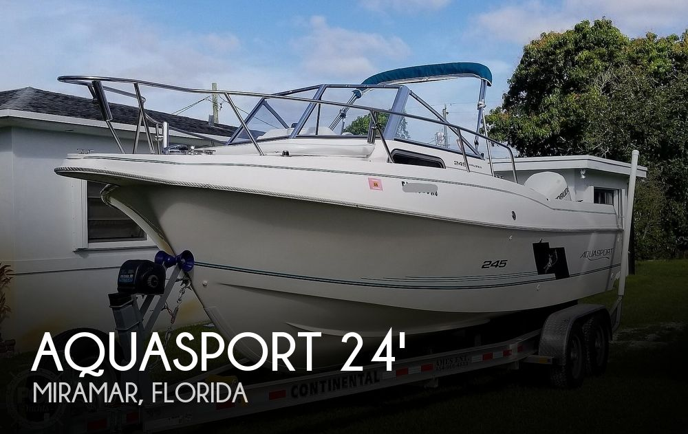 1997 Aquasport boat for sale, model of the boat is 245 EXPLORER & Image # 1 of 40