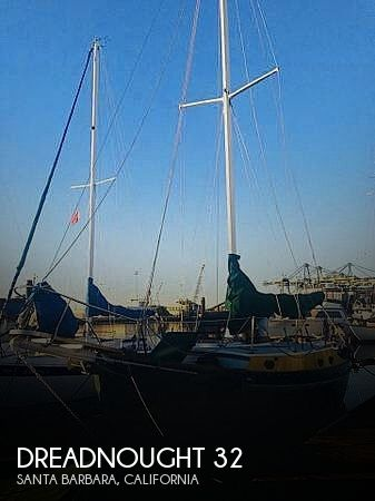 Used Boats For Sale in San Luis Obispo, California by owner | 1974 Dreadnought 32