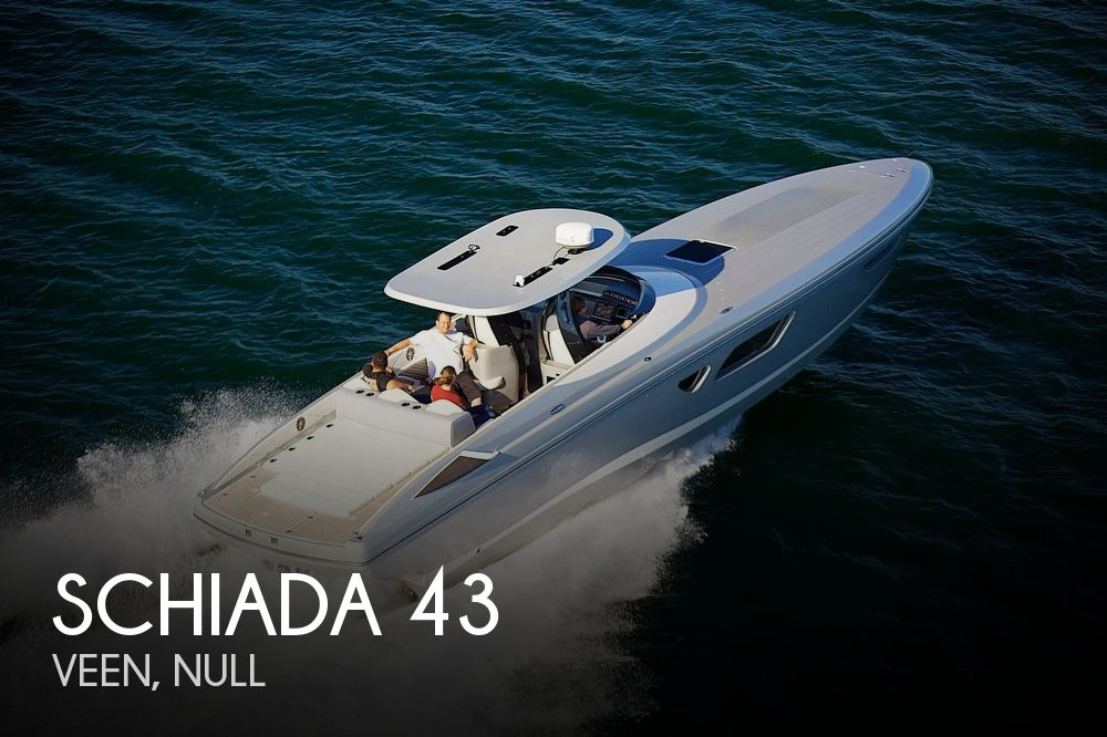 2017 Schiada 43 Super Cruiser