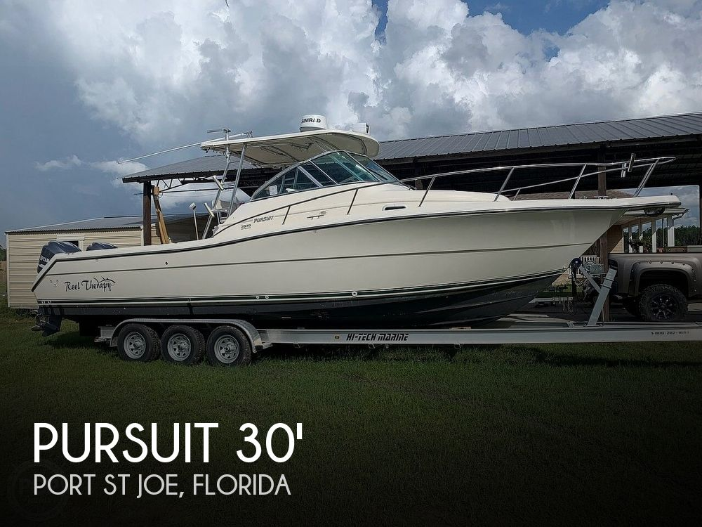 Used Pursuit Boats For Sale by owner | 2001 Pursuit 3070 Offsore Center Console