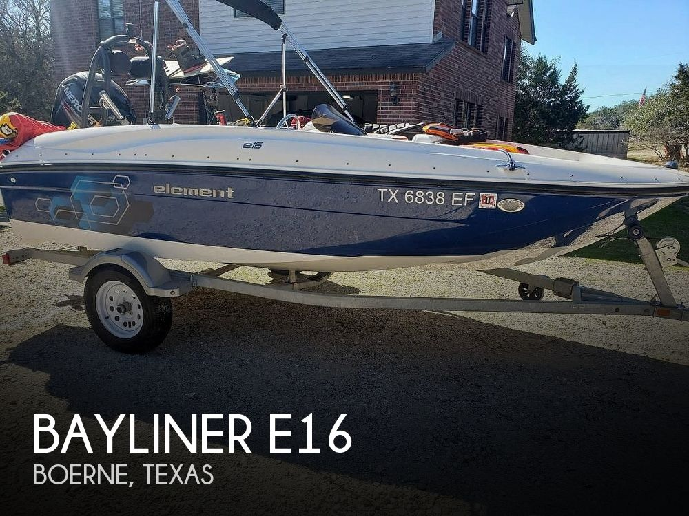 Used Bayliner Boats For Sale in Texas by owner | 2018 Bayliner E16