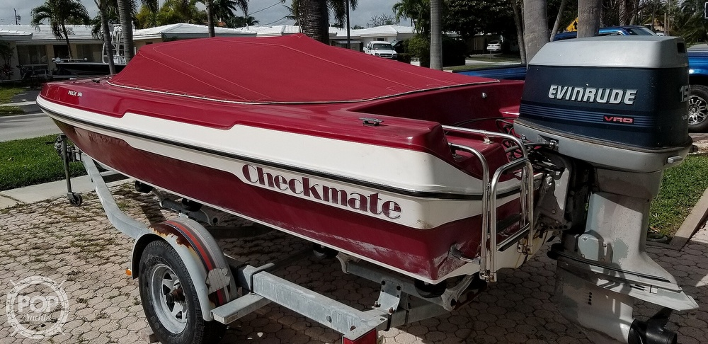 1990 Checkmate boat for sale, model of the boat is Pulse 186 & Image # 2 of 40