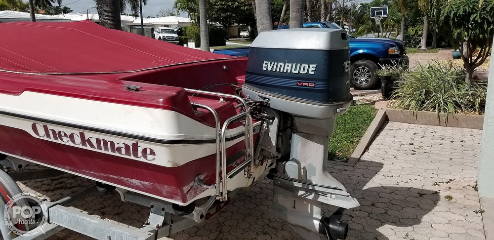 1990 Checkmate boat for sale, model of the boat is Pulse 186 & Image # 6 of 40