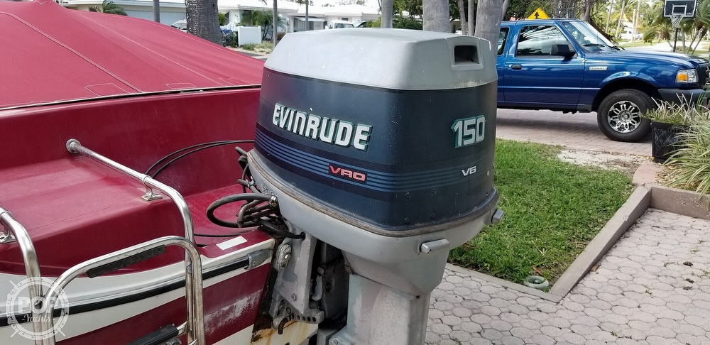 1990 Checkmate boat for sale, model of the boat is Pulse 186 & Image # 9 of 40