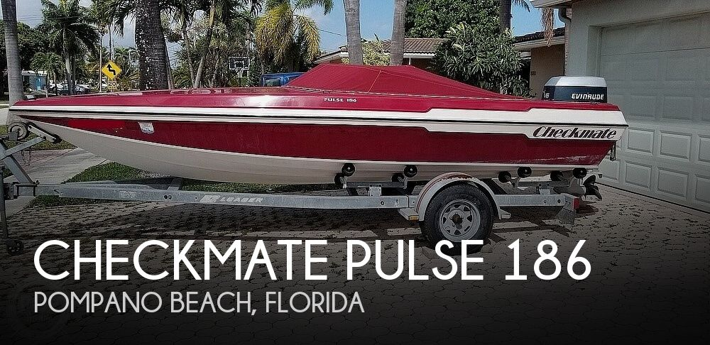 1990 Checkmate boat for sale, model of the boat is Pulse 186 & Image # 1 of 40