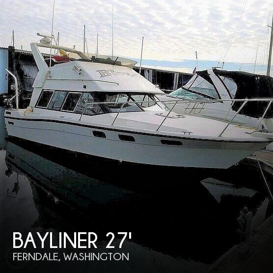 Used Bayliner Fishing boats For Sale by owner | 1987 Bayliner 2858