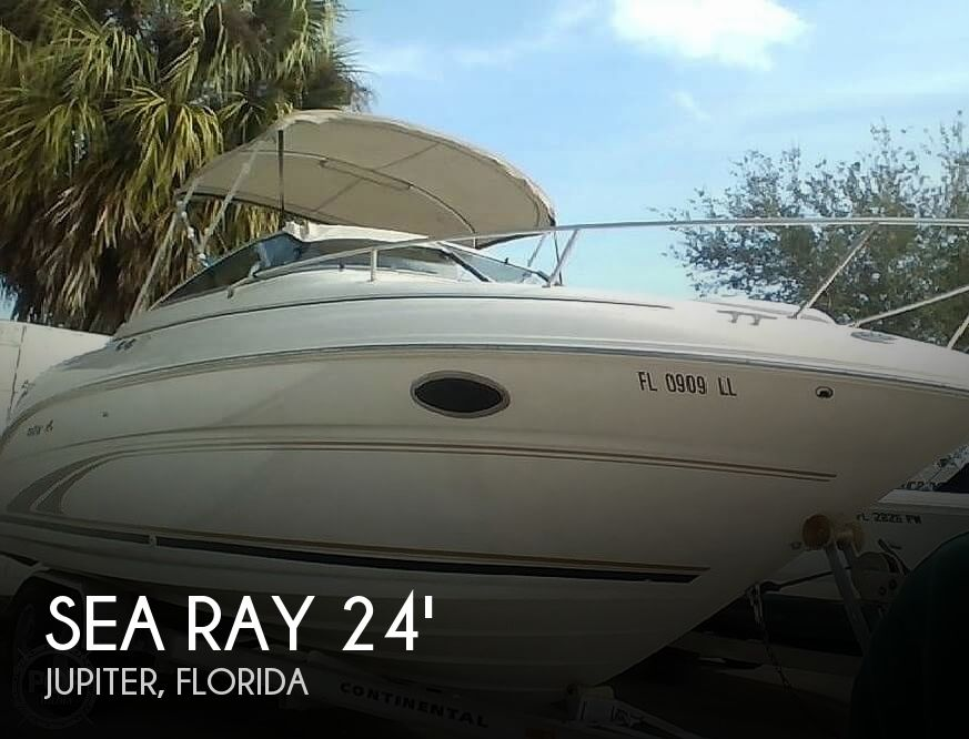 Used Sea Ray 245 Boats For Sale by owner | 2001 Sea Ray 245 Weekender