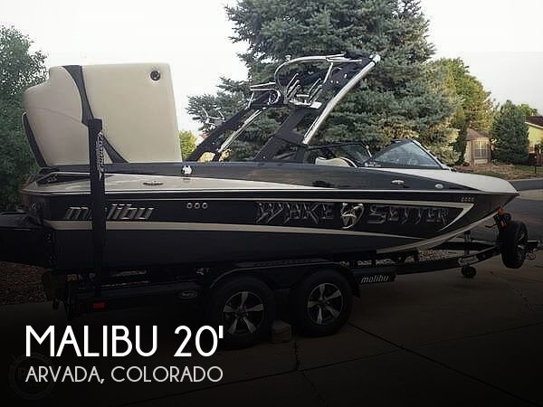 Used Boats For Sale in Boulder, Colorado by owner | 2013 Malibu 20