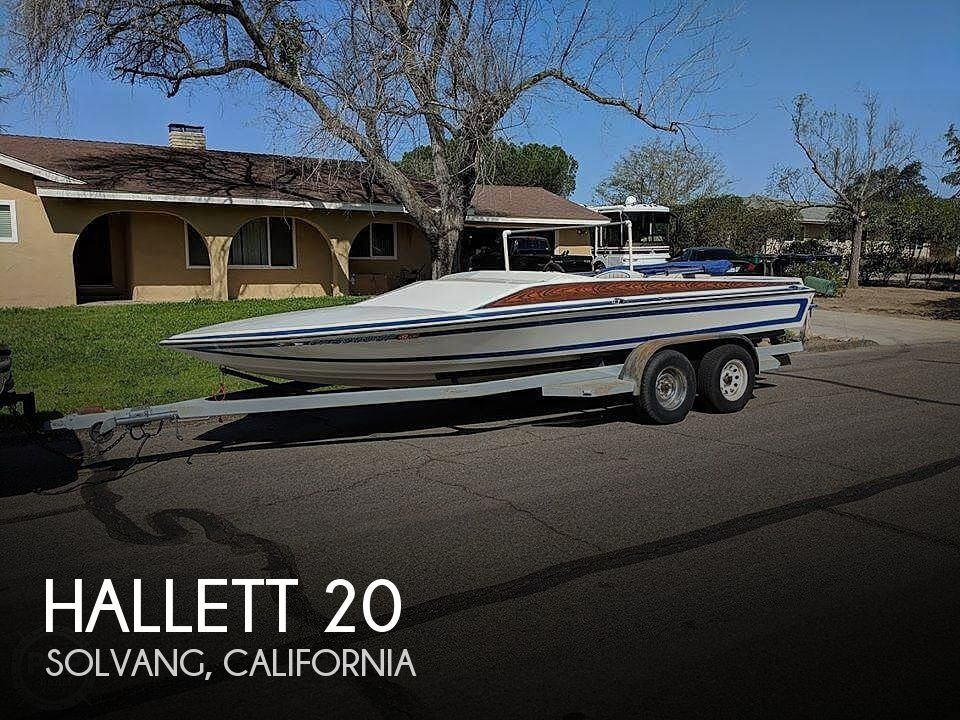 Used Hallett Boats For Sale by owner | 1978 Hallett 20