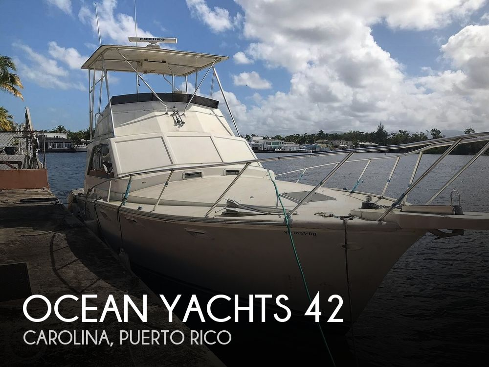Used Ocean Yachts Boats For Sale by owner | 1979 Ocean Yachts 42