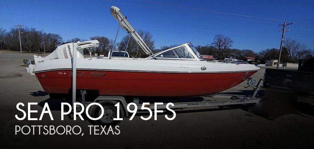 Canceled Sea Pro 195fs Boat In Pottsboro Tx 203060