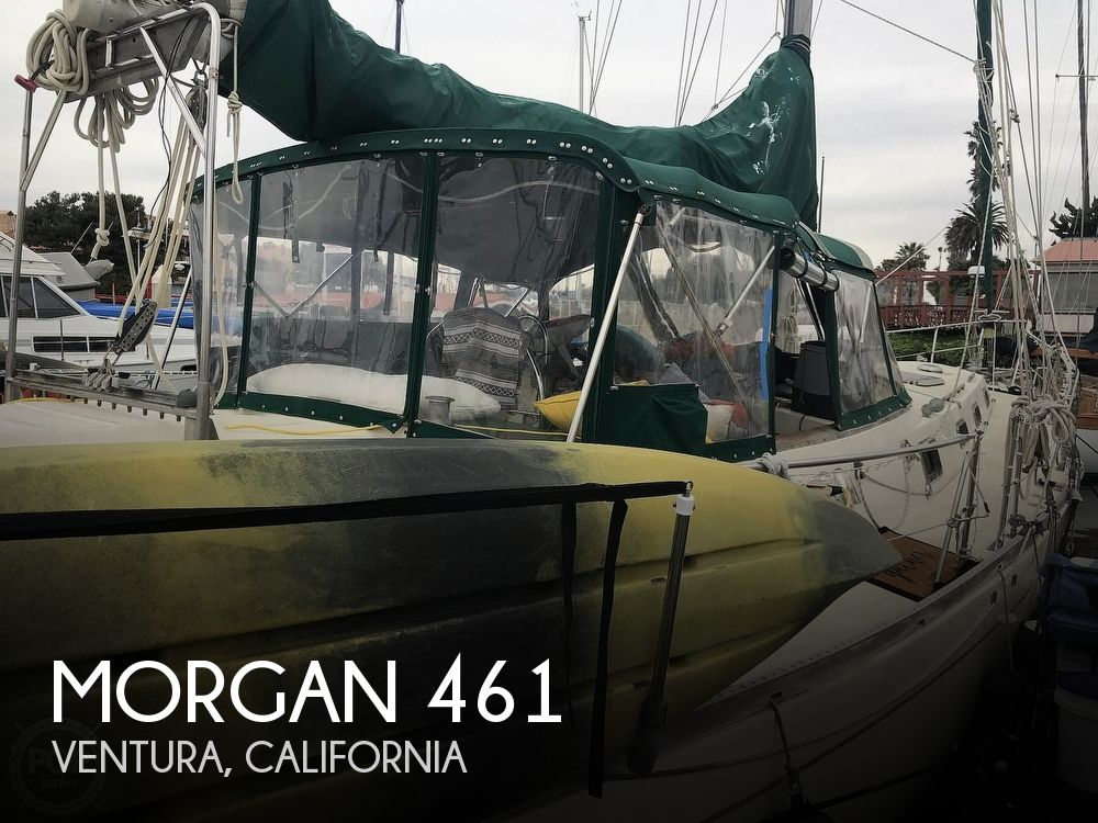 Used Boats For Sale in Santa Maria, California by owner | 1981 Morgan 461