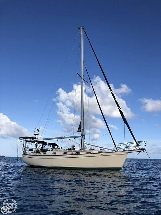 1990 Island Packet boat for sale, model of the boat is 38 Cutter & Image # 3 of 40