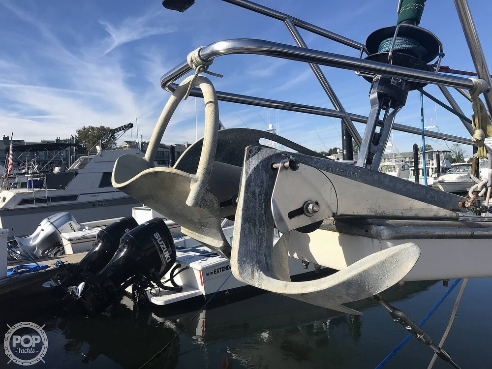 1990 Island Packet boat for sale, model of the boat is 38 Cutter & Image # 20 of 40