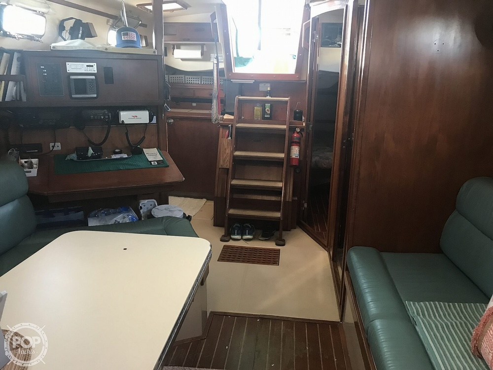 1990 Island Packet boat for sale, model of the boat is 38 Cutter & Image # 39 of 40