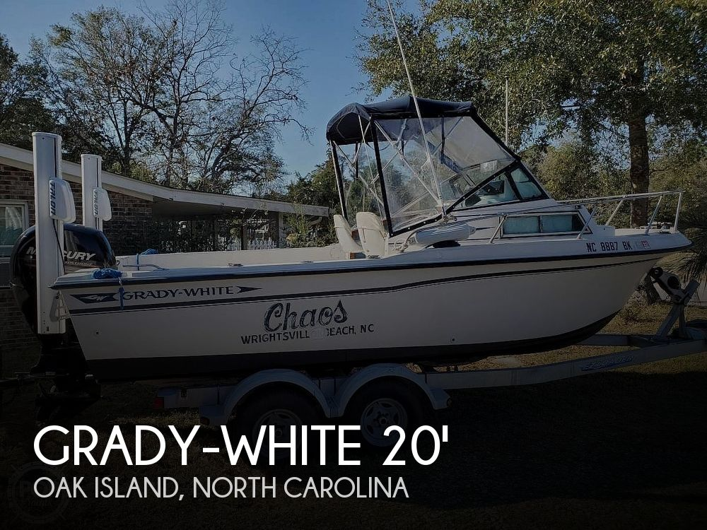Used Grady-White Boats For Sale in North Carolina by owner | 1988 Grady-White 20 OVERNIGHTER
