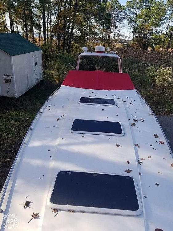 1986 Chris Craft boat for sale, model of the boat is 415 Stinger & Image # 4 of 40
