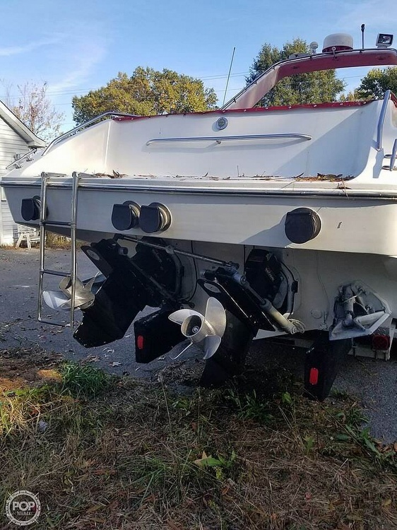 1986 Chris Craft boat for sale, model of the boat is 415 Stinger & Image # 5 of 40