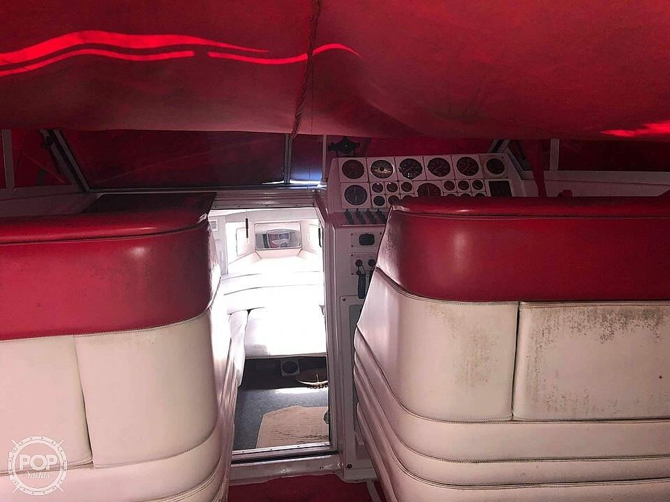 1986 Chris Craft boat for sale, model of the boat is 415 Stinger & Image # 10 of 40