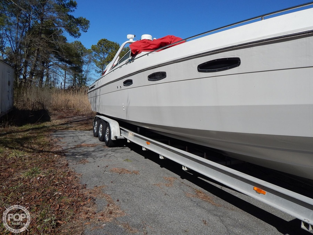 1986 Chris Craft boat for sale, model of the boat is 415 Stinger & Image # 20 of 40