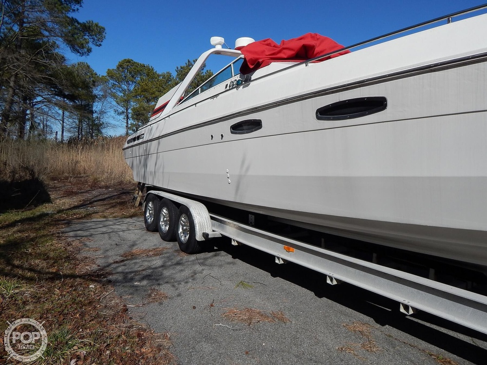 1986 Chris Craft boat for sale, model of the boat is 415 Stinger & Image # 21 of 40