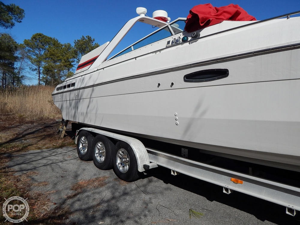 1986 Chris Craft boat for sale, model of the boat is 415 Stinger & Image # 22 of 40