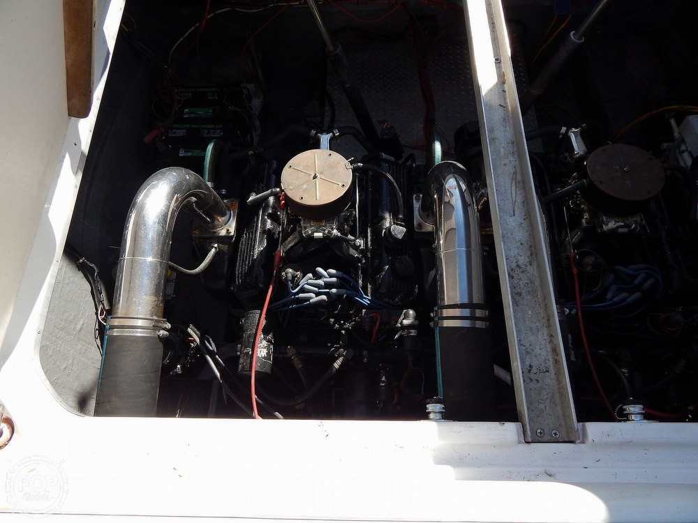 1986 Chris Craft boat for sale, model of the boat is 415 Stinger & Image # 40 of 40