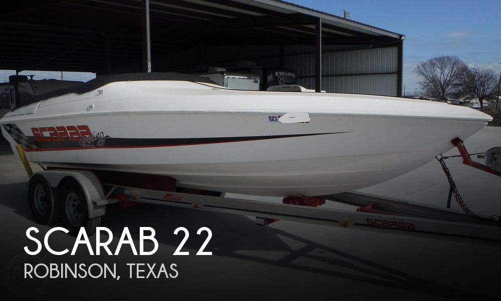 1997 Scarab boat for sale, model of the boat is 22 & Image # 1 of 40